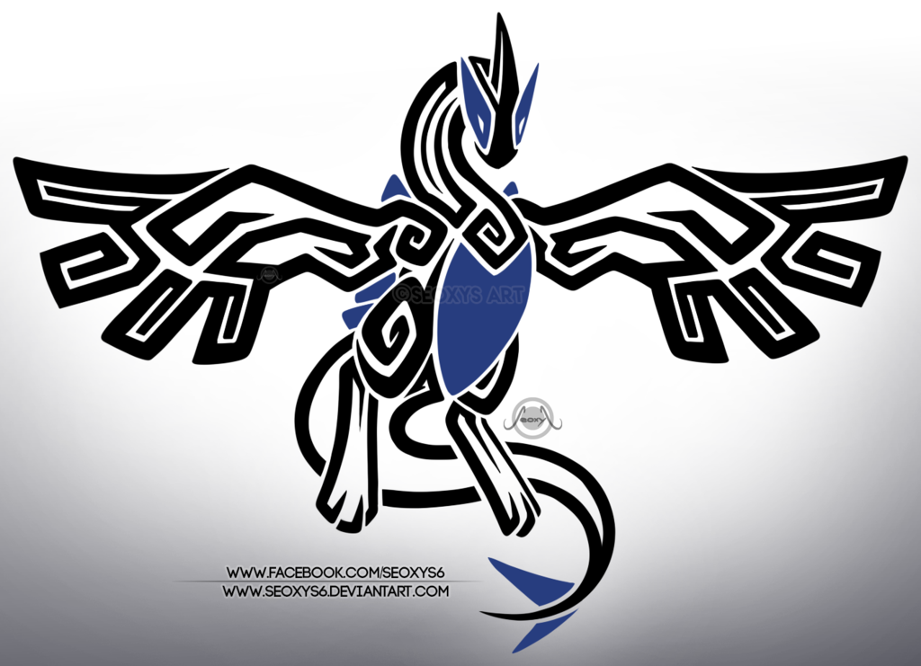 Tribal Lugia by Seoxys6 on DeviantArt