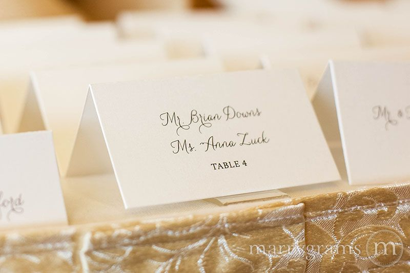 What Is The Difference Between Escort Cards Vs Place Weddings Are Full Of Confusing Etiquette Rules Marrygrams Here To Explain