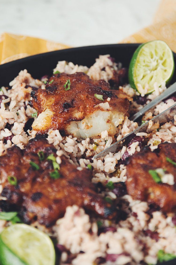 Spiced rum jerk sunchokes with rice beans forumfinder Choice Image