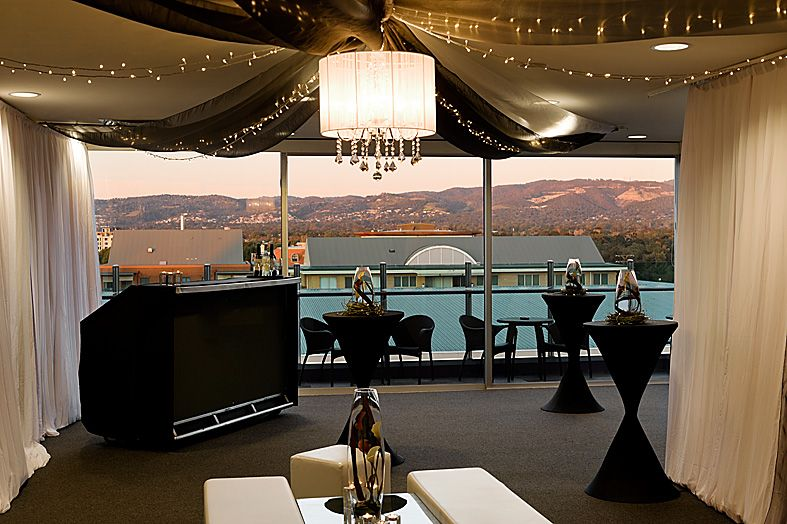 Cocktail Wedding Reception At Nandina Function Rooms, Majestic Roof Garden  Hotel. Adelaide, South
