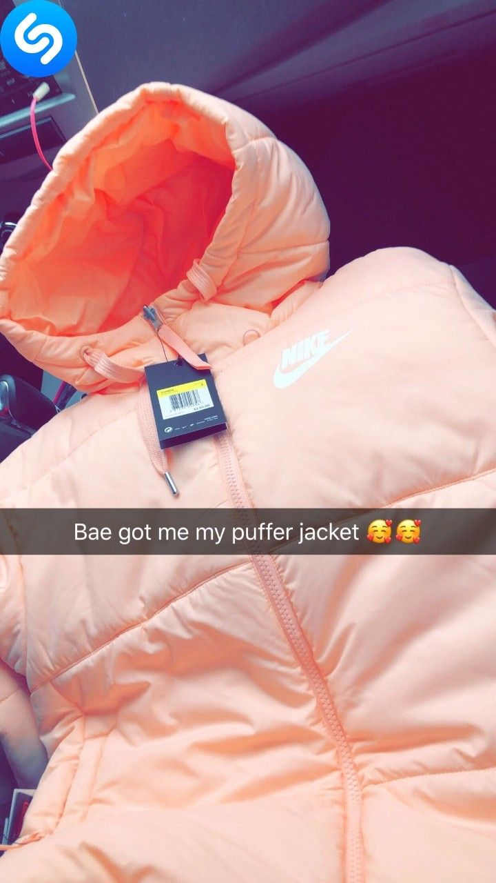 Nike Puffer Coat Cute Outfits Nike Outfits Comfy Outfits [ 1280 x 720 Pixel ]