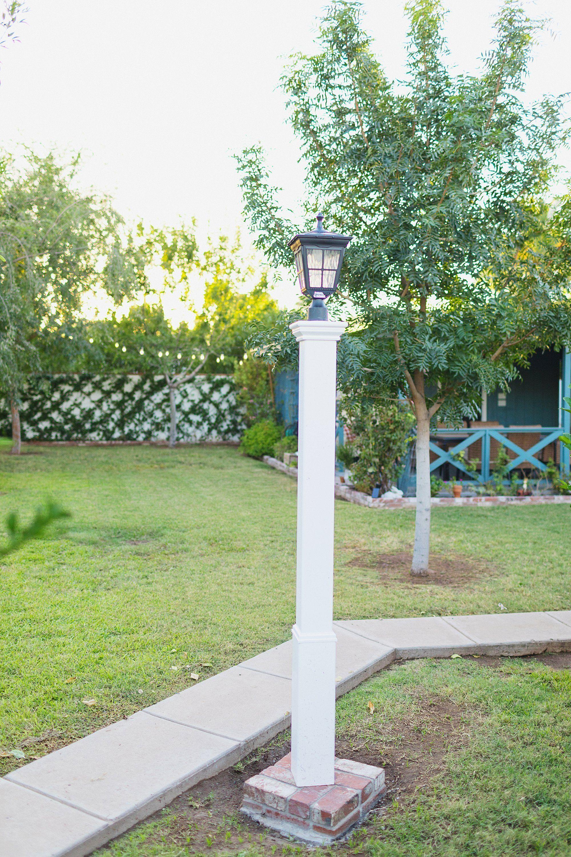 Adding Warm Solar Led Lights Posts