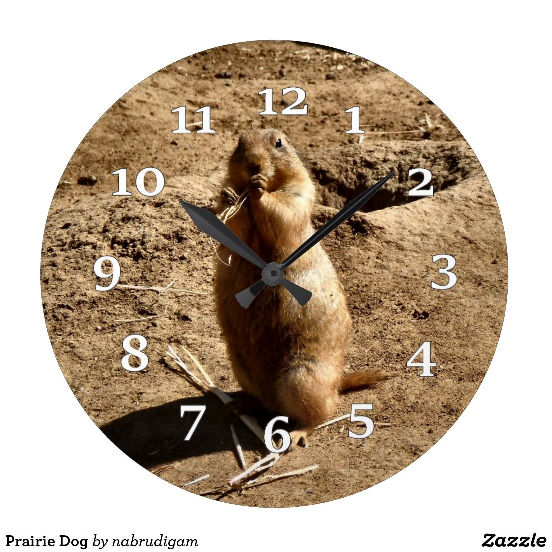 Prairie Dog Large Clock Wall Clocks In 2018 Pinterest Large