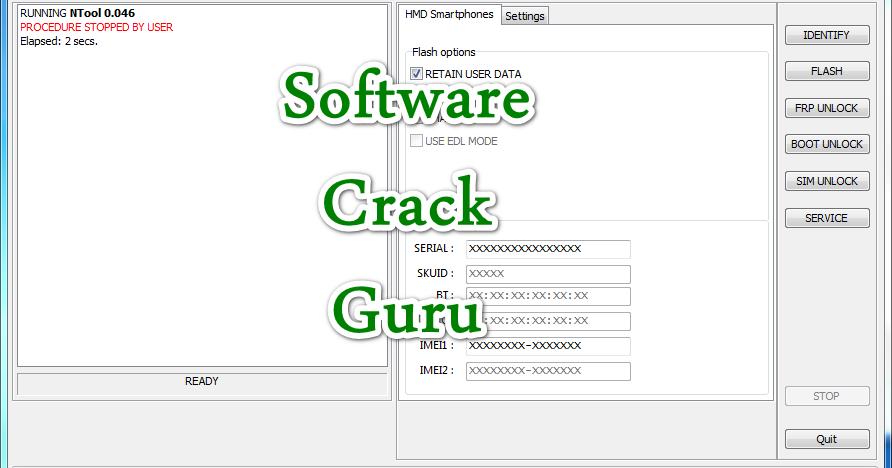 NOKIA FRP IMEI Sim Unlock FLASH NTool 0 046 crack Nokia 123456789