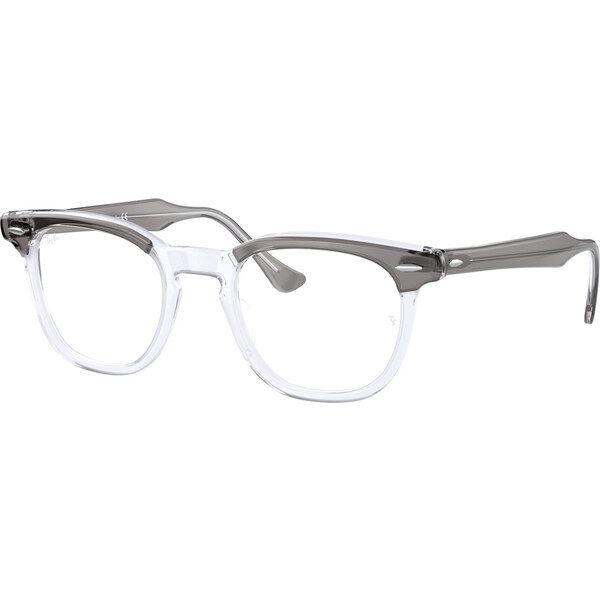 Ray-Ban Hawkeye RX5398 8111, Plastic, Gray, Green Glasses