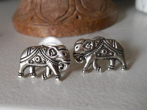 stud cute p elephant silver in baby sterling earrings