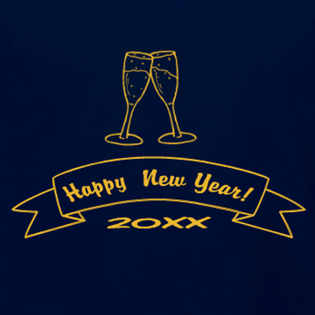 new year champagne toast t shirt idea and template personalize for your new years eve party in our custom t shirt design studio