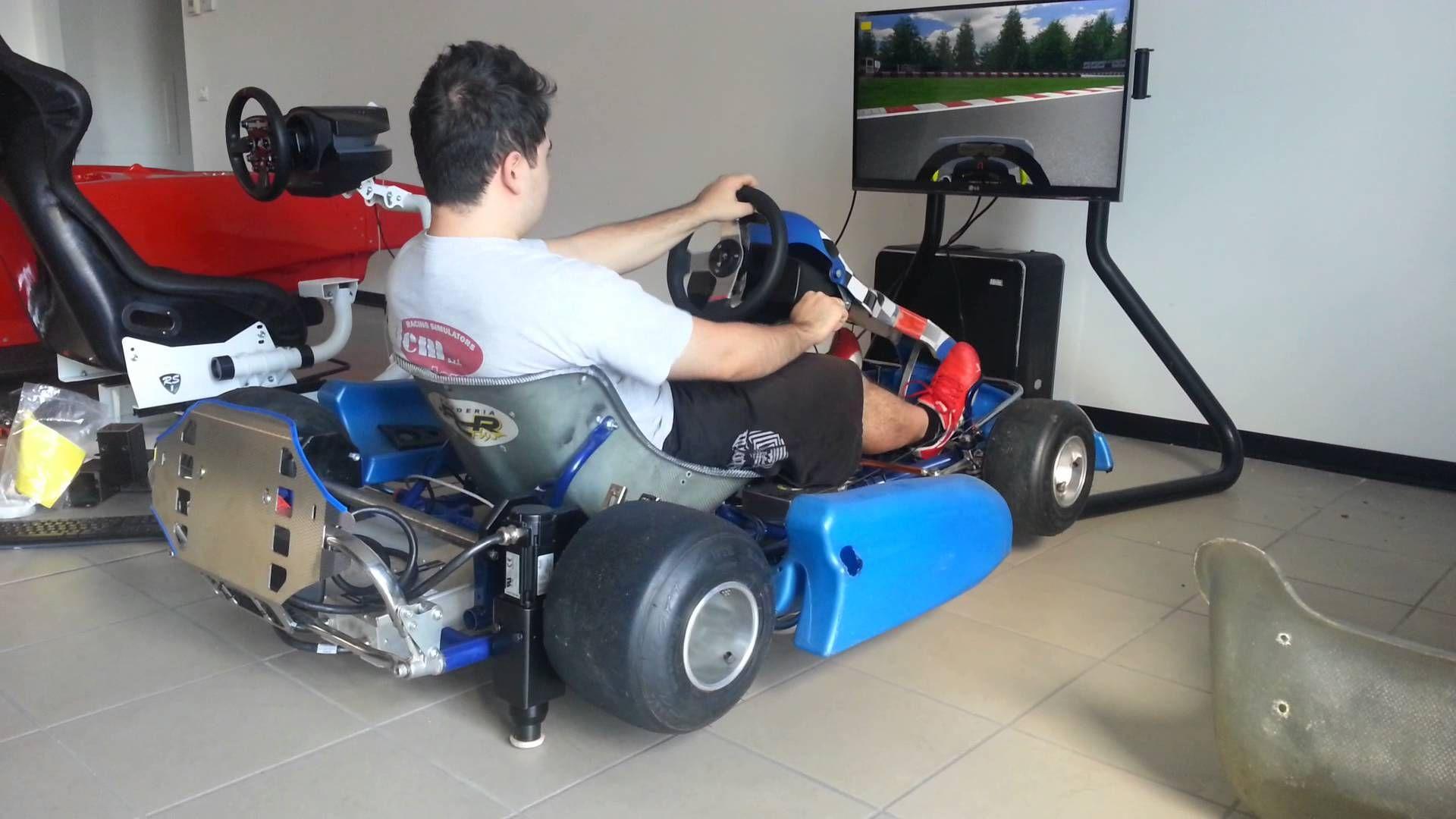 Cool kart racing simulator with motion httpwww