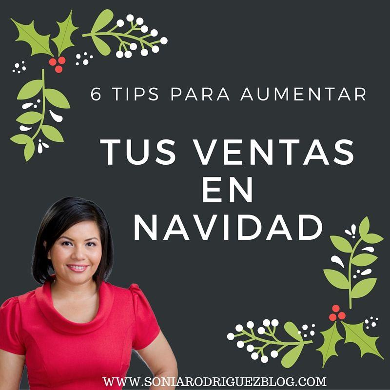 112 Seis Ideas para Incrementar tus Ventas en Navidad