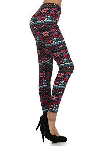 Leggings Depot Women's Seasonal Printed Leggings for Fall... https://www.amazon.com/dp/B016AXAJLU/ref=cm_sw_r_pi_dp_x_ytIvybG0AJA2N