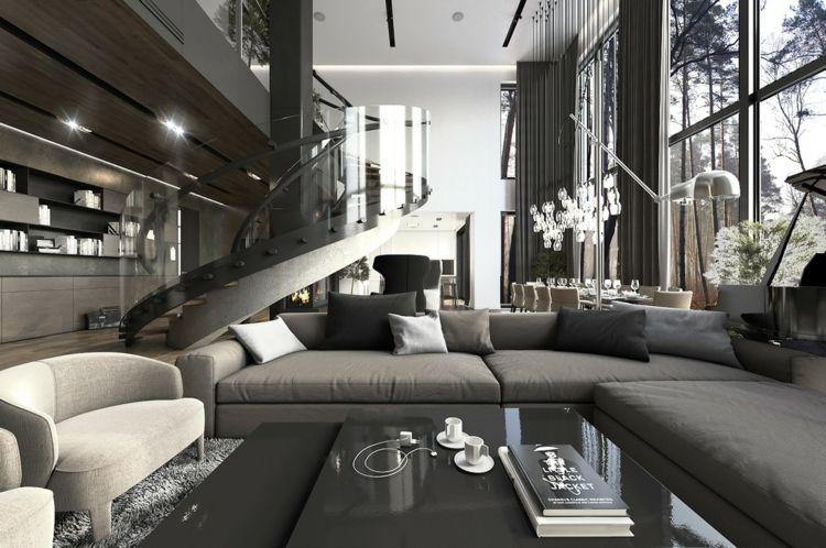 Wohnung In Grau. Stunning Khles Ideen Fr Zuhause Wohnung In Grau ...