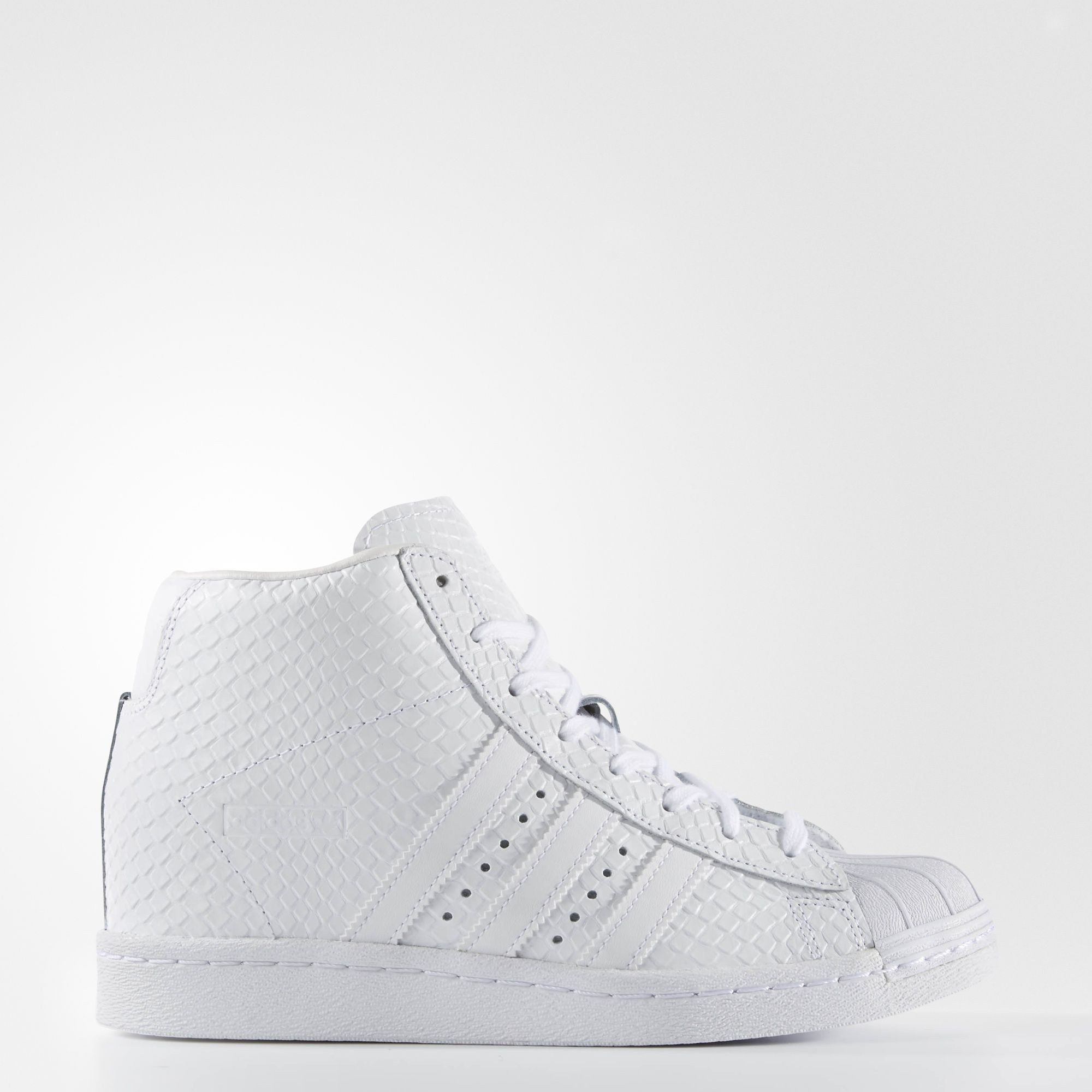 womens adidas stone superstar up metal toe trainers