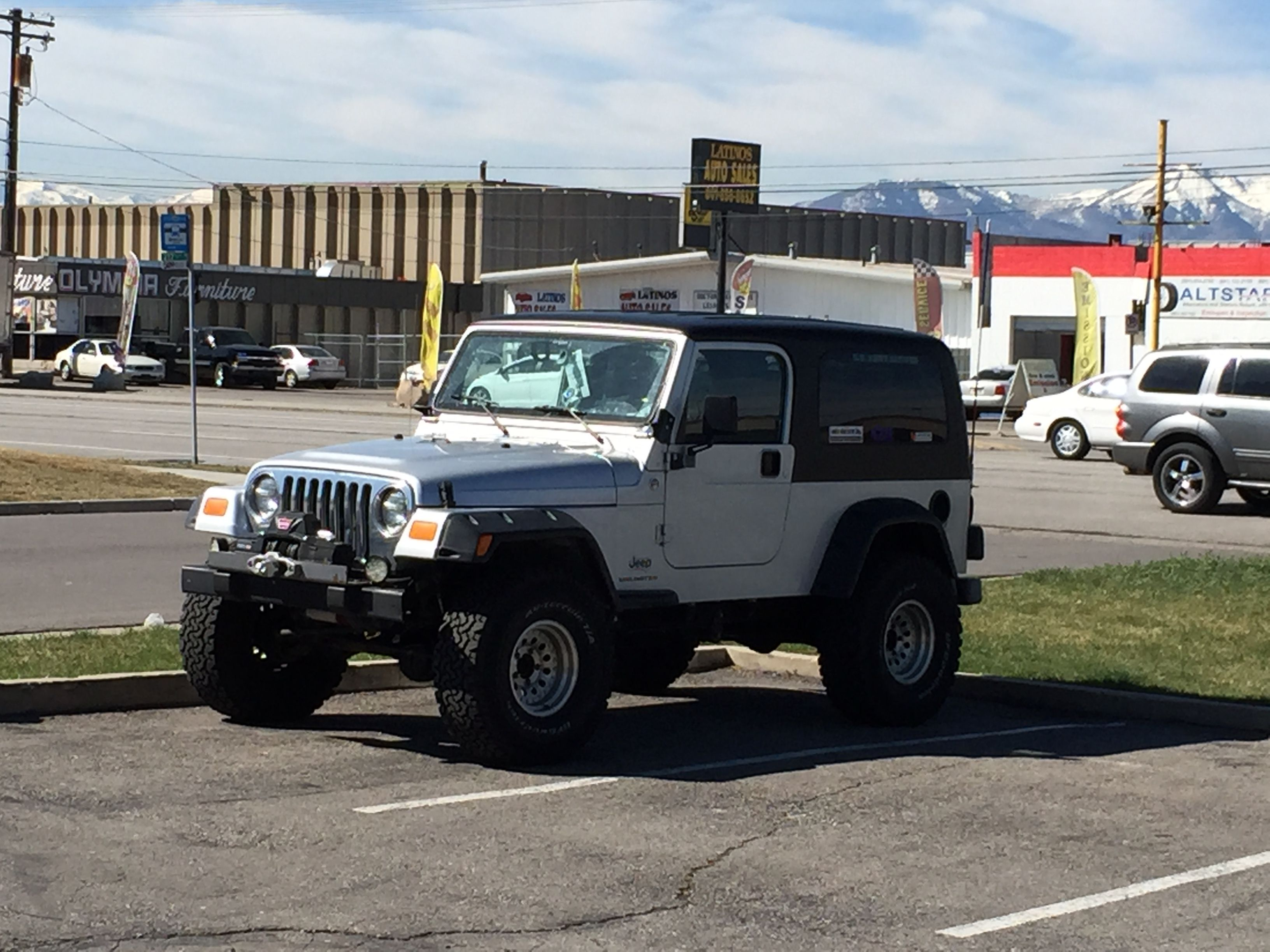 Jeep Wrangler Tj With Come Cool Flares Jeep Wrangler Tj
