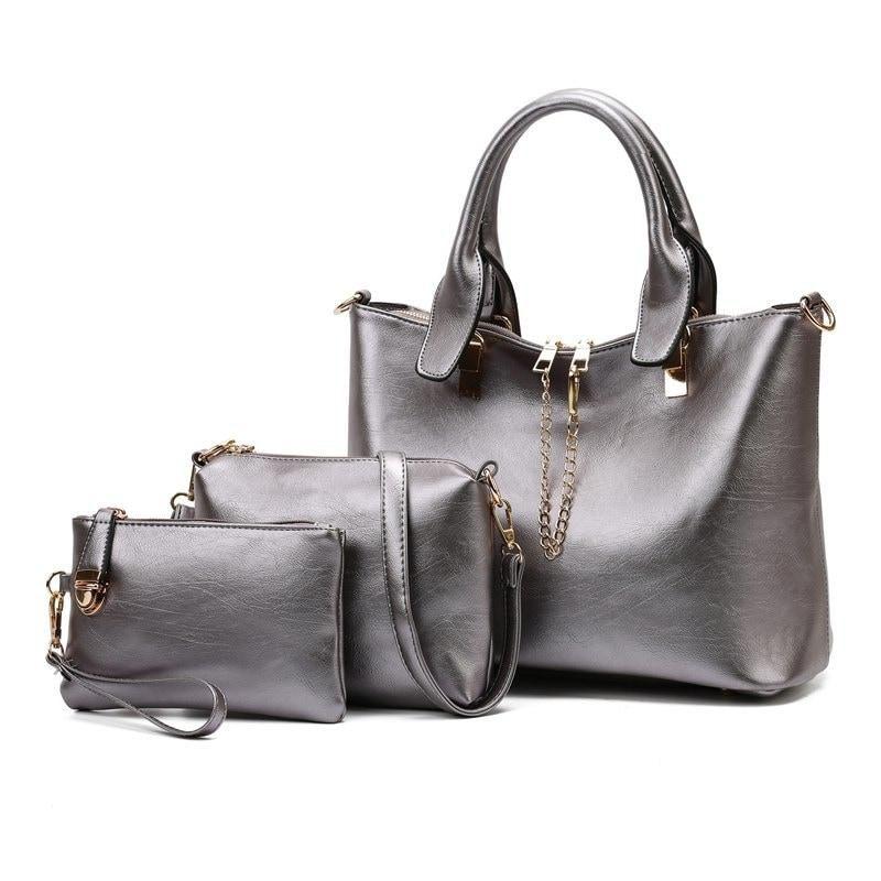 3b9f85bcdb  AdoreWe  RoseGal -  Rosewholesale Three piece Fashion Messenger Bag Simple  - AdoreWe.
