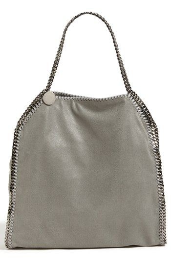 Stella McCartney 'Falabella - Large at #Nordstrom I want this bag so bad. I know it is to pricey, but this is what I want.  A girl can dream.  I like this color or beige (no pink tones).  However, I would take any neutral color, including black. KLB