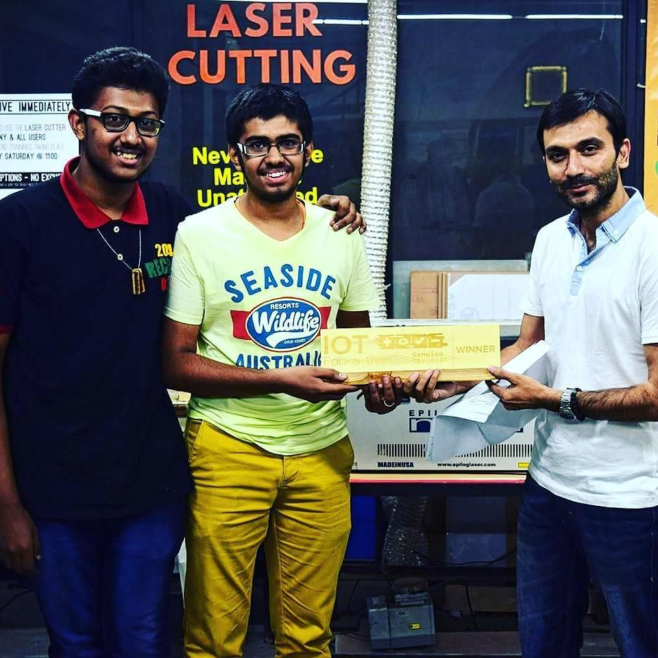 """Drum rolls for the Winning team of the IOT Fab-a-thon The project """"Hospital Automation"""" stole the show!. Cheers to them. Keep Thinking Keep Making!  #GenuinoDay #FablabCEPT #AEFest #Fabathon #IoT #GenuinoDayAhmedabad #ArduinoD16 by fablabcept"""