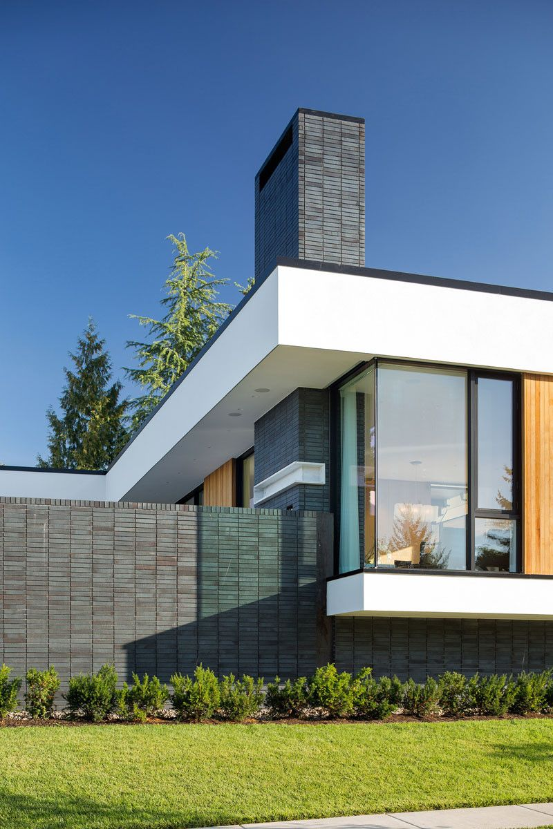 This home with multiple energy efficient solutions sits prominently ...