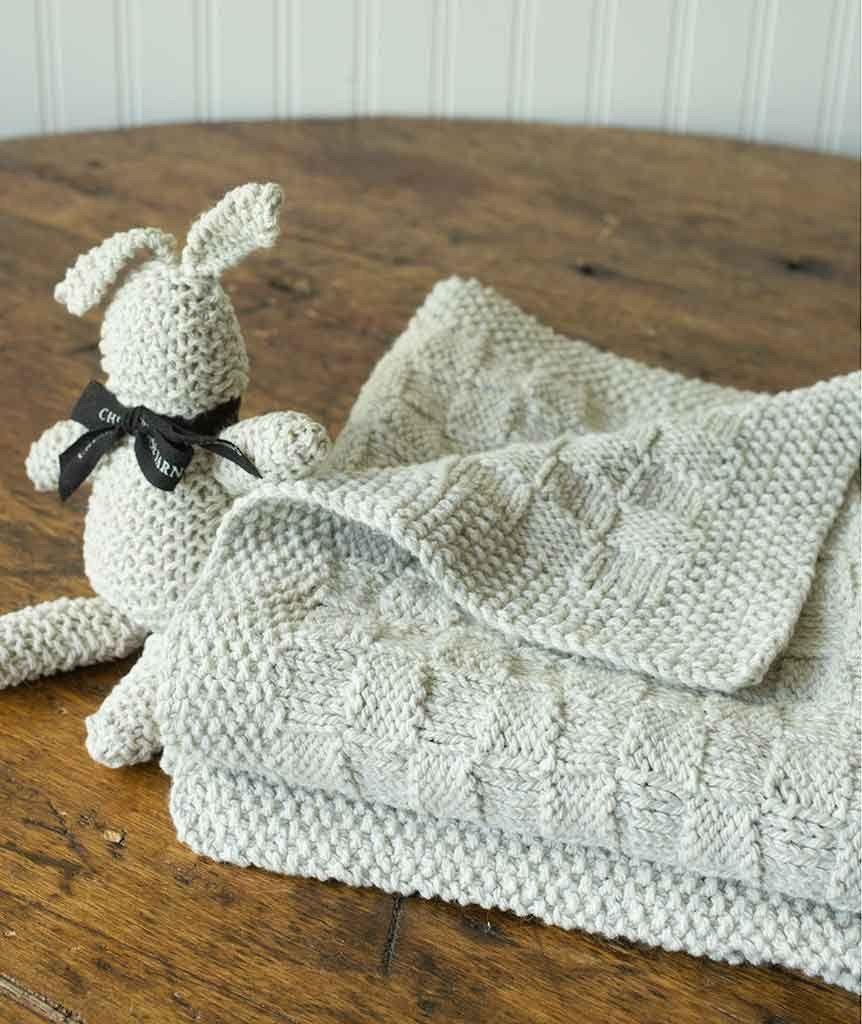 Block Stitch Baby Blanket or Throw – Churchmouse Yarns & Teas   My ...