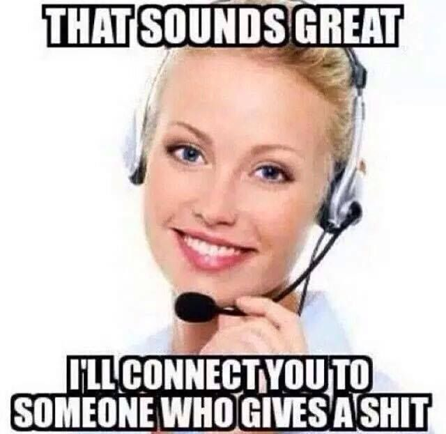 I'll connect your call to.. #Funny, #Great, #Someone ...