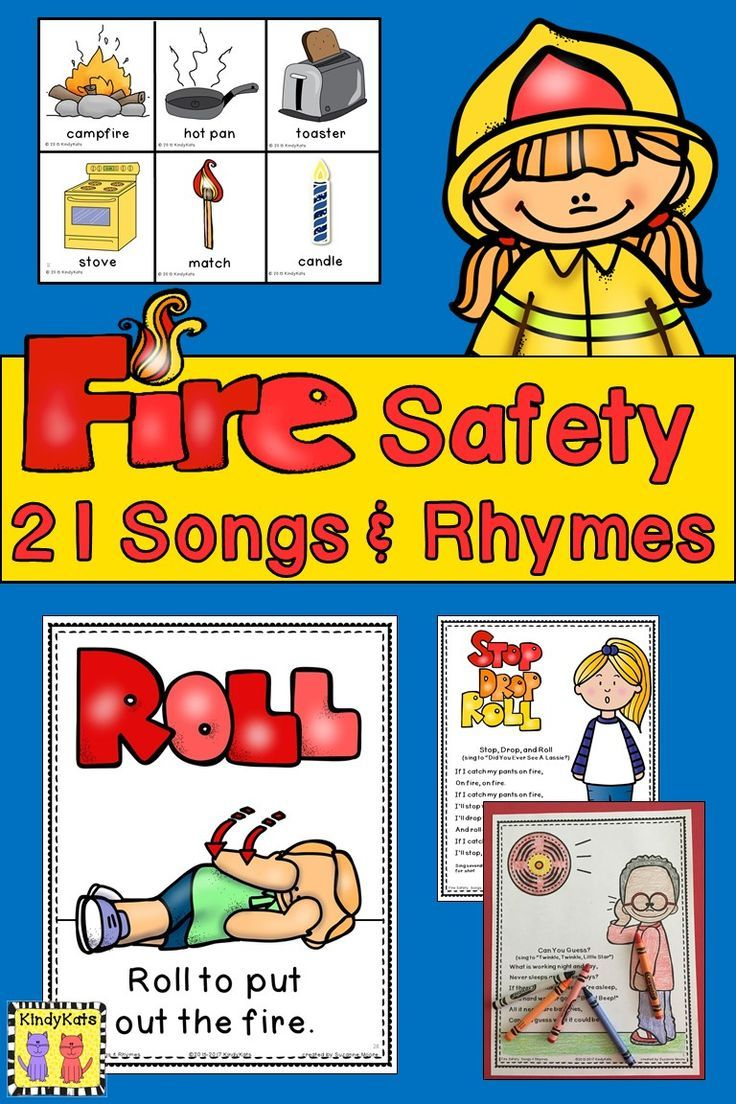 Fire Safety Songs and Rhymes Fire prevention week, Fire