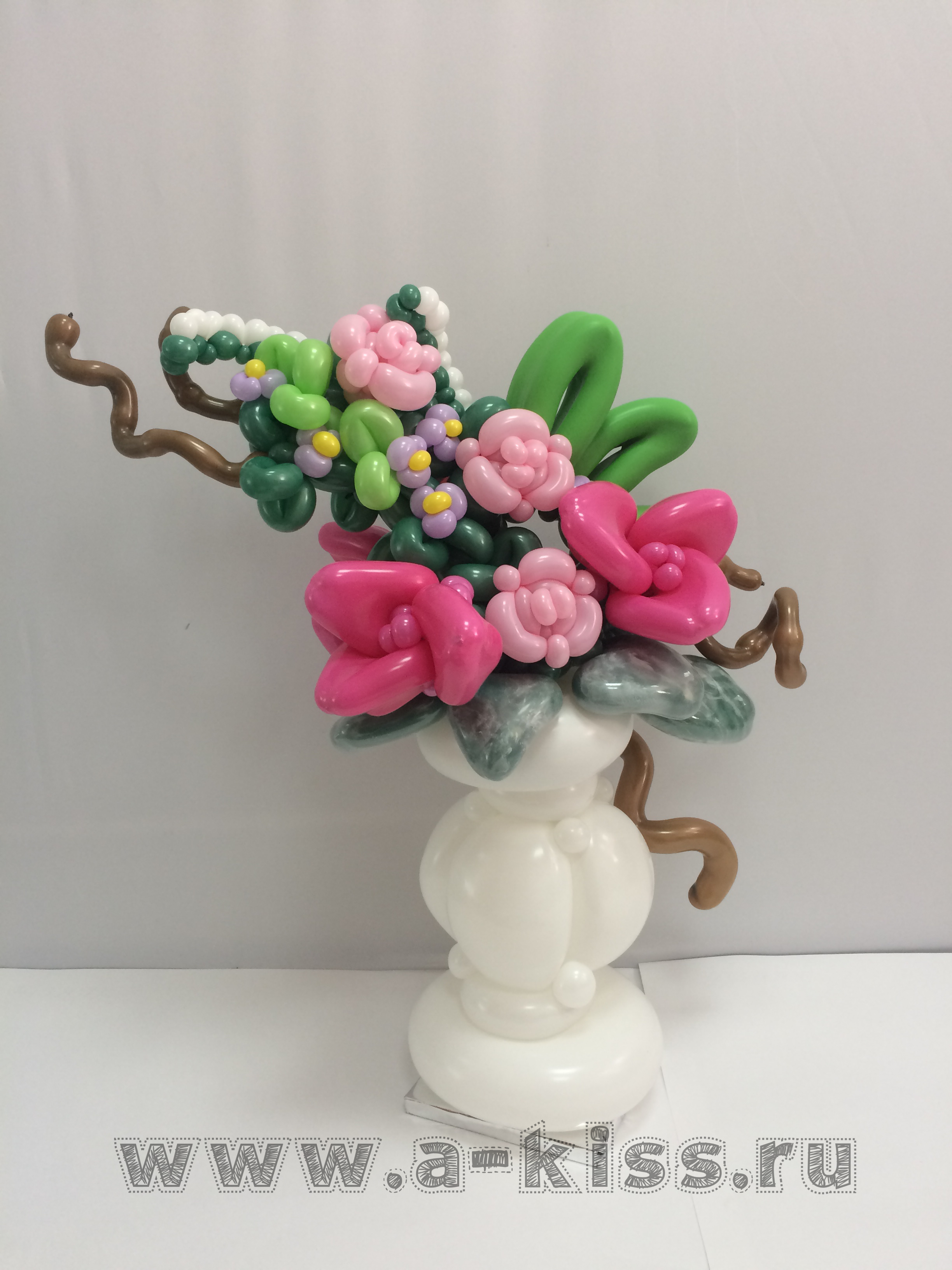 Pin By On My Balloons Pinterest Balloon Flowers