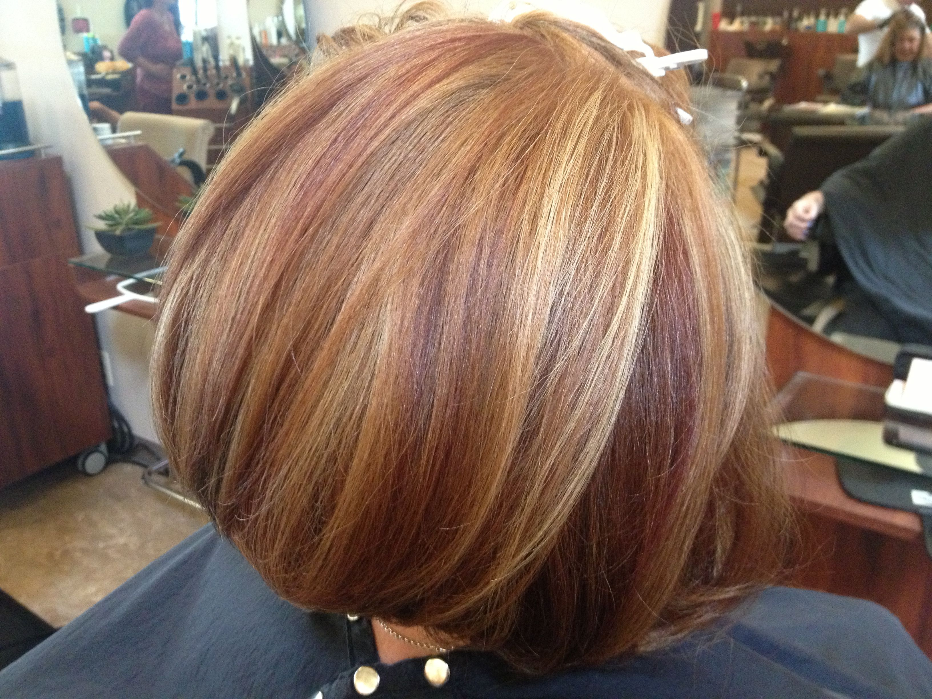 Used Artego Color Two Different Shades Of Level 5 Red