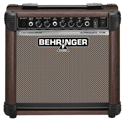 Amplificador Guitarra Behringer Acoustic Guitar Amp Guitar Amp Acoustic Guitar