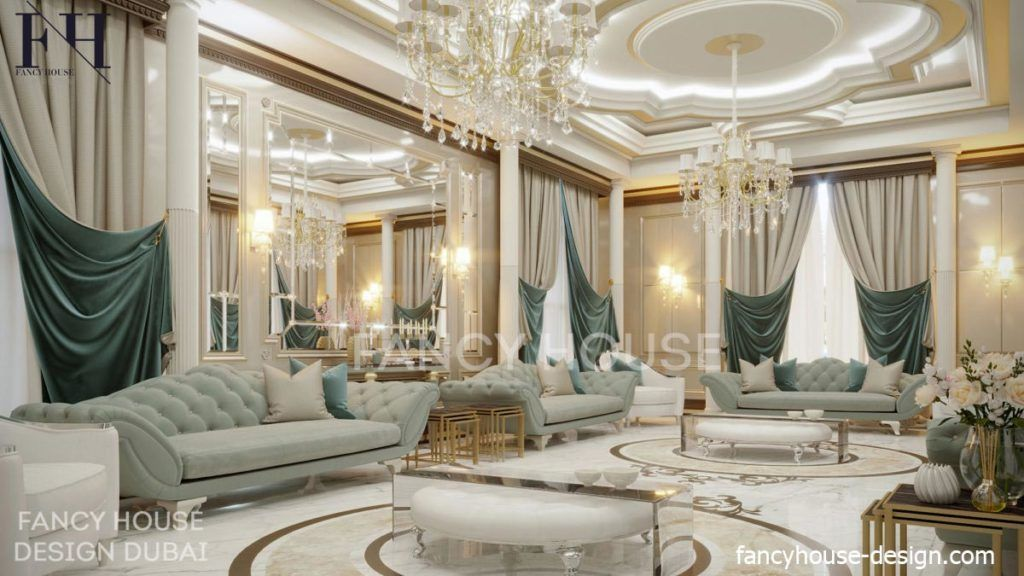 Modern Arabic Majlis Interior Design In Dubai Fancy House Luxury House Interior Design Luxury Furniture Design Victorian Interior Design