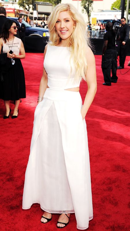 MTV Movie Awards 2014 Red Carpet - Ellie Goulding from #InStyle