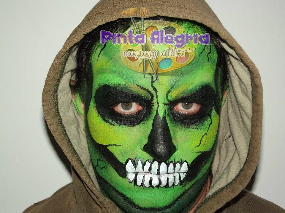 Maquiagem de Terror´-Caveira