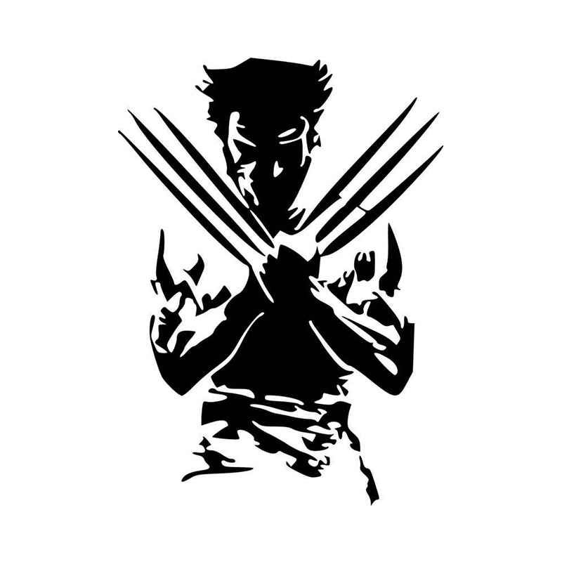 Wolverine Silhouette X Men Vinyl Decal Sticker | Pinterest ...