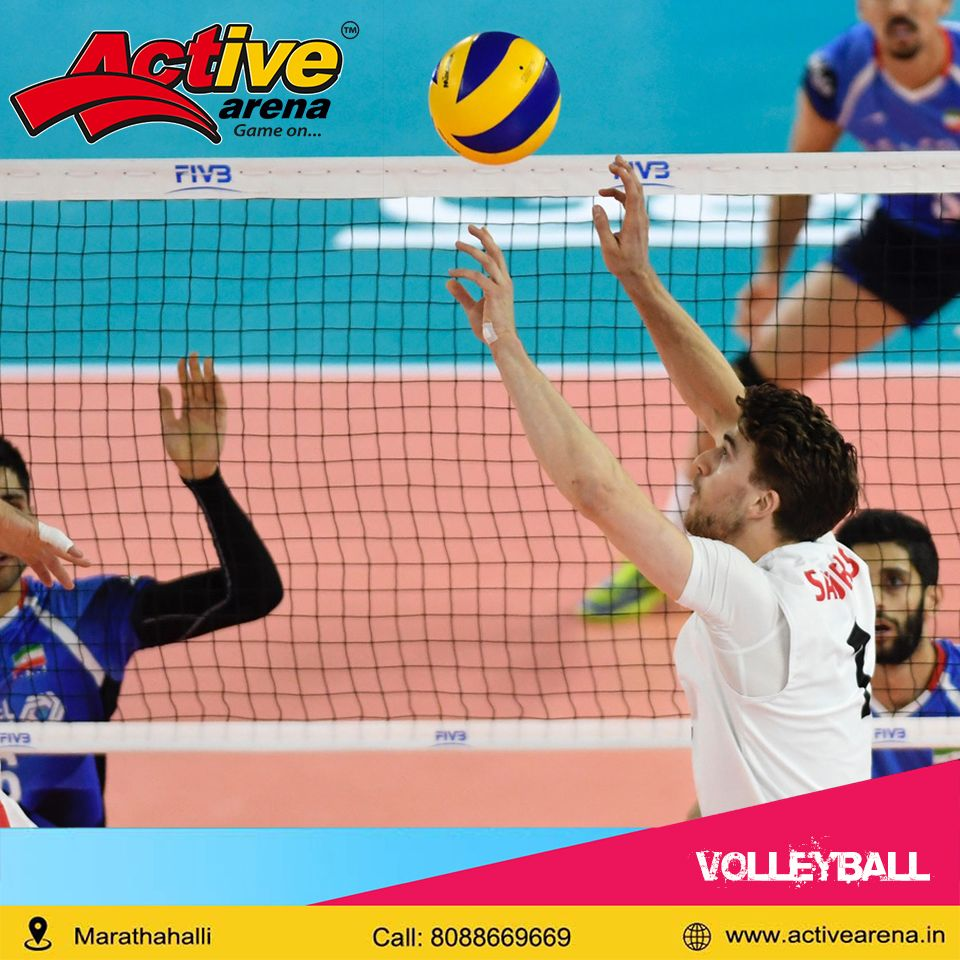 Active Arena Home Page Volleyball Sportscenter Badminton Court