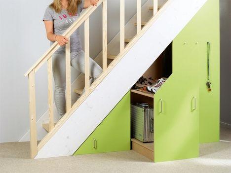 Neuer stauraum unter der treppe selber bauen