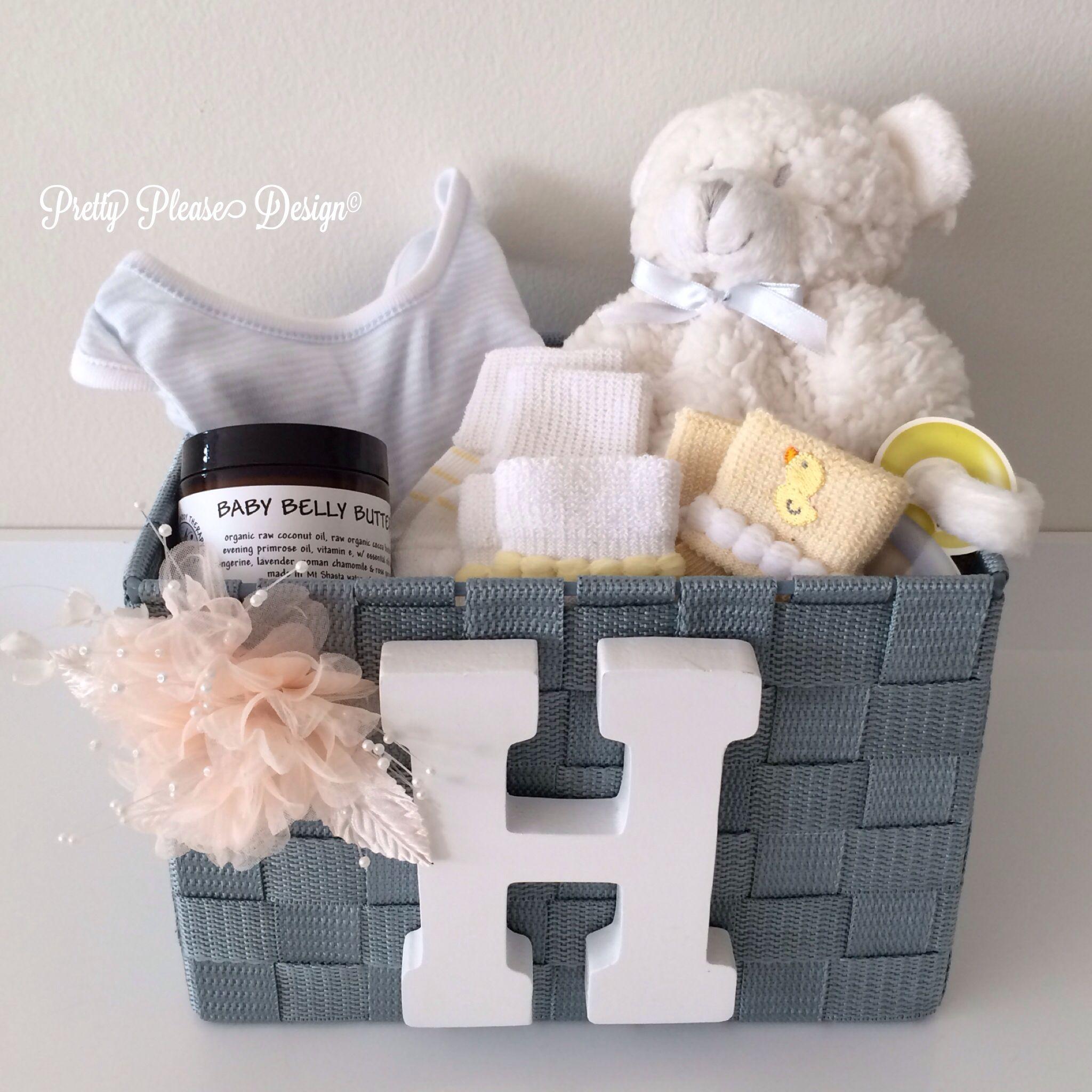 Pretty Please Baby Itsaprettygirl Itsaprettyboy Prettypleasedesign Welcomebasket Gifts For Pregnant Friend