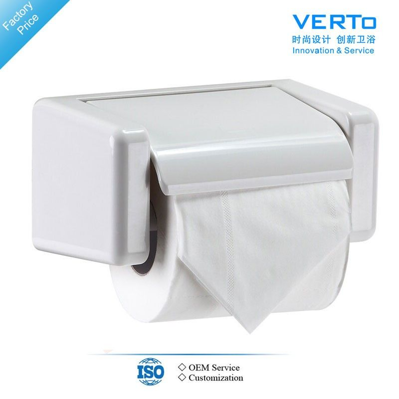 Plastic Wall Mounted Bathroom Accessories Abs Tissue Holder Vt601