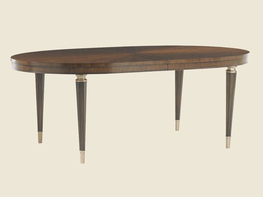Tower Place Drake Oval Dining Table Lexington Home Brands 82