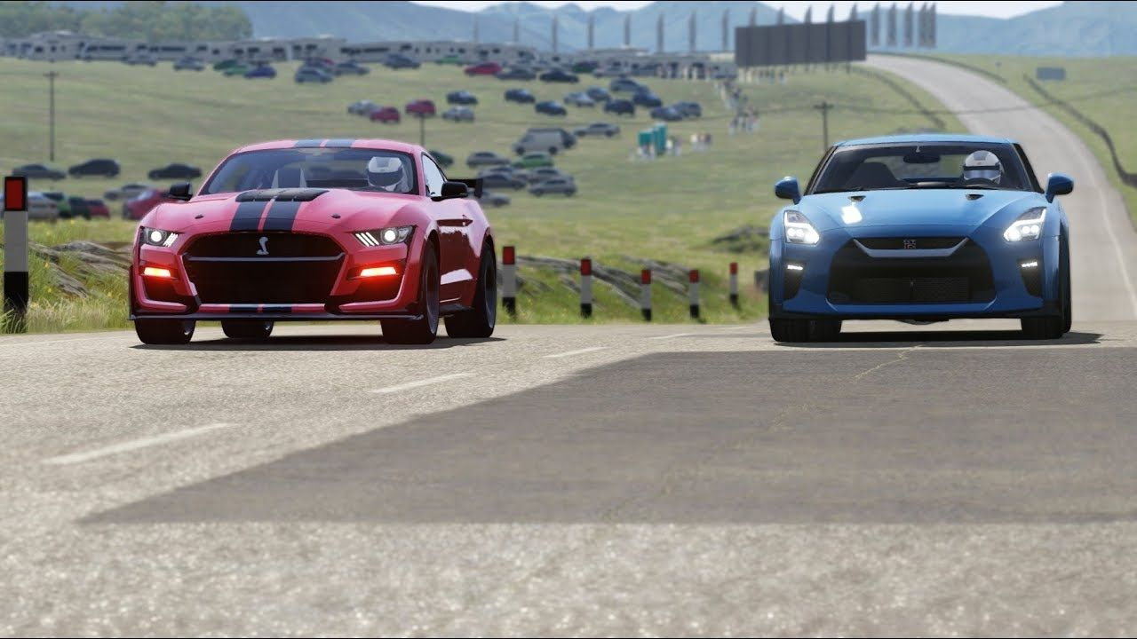 2020 Ford Mustang Shelby Gt500 Vs Nissan Gt R 17 At Highlands