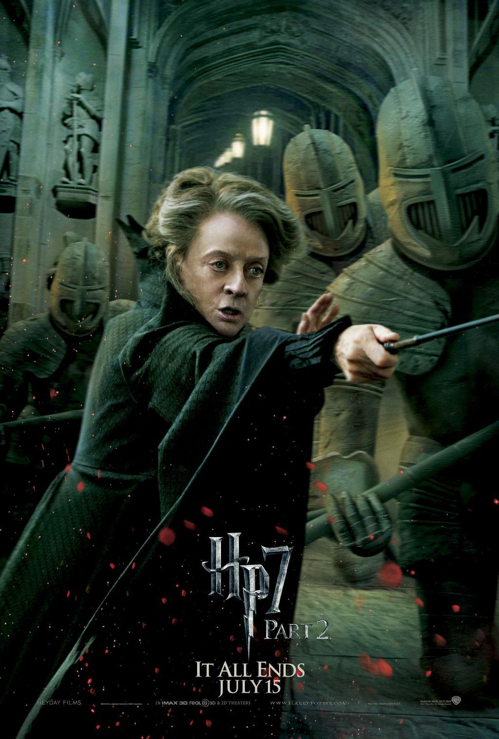 Hp7 Mc Gonagall Harry James Potter Harry Potter Film Harry Potter Fanfiction