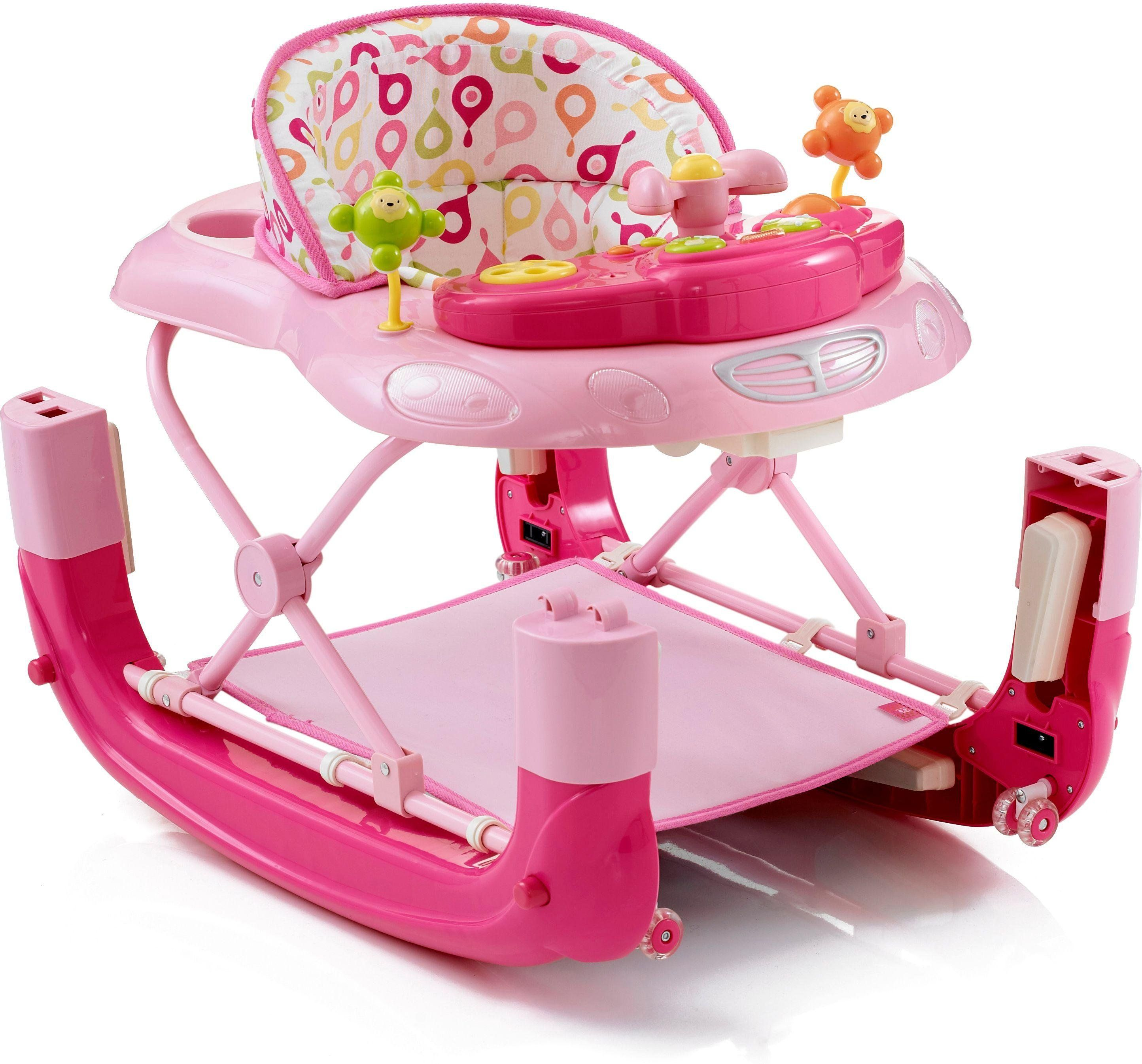 Buy MyChild Walk N Rock 2 In 1 Baby Walker Pink Baby