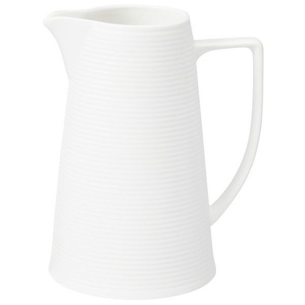 Kate Reed Euro Jug, 860ml (6.24 CAD) ❤ liked on Polyvore featuring home, kitchen & dining, serveware and white serveware