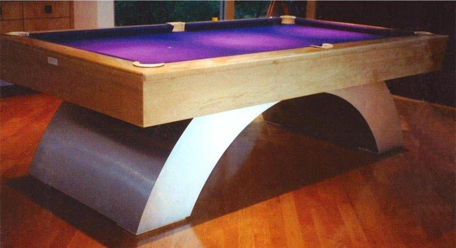 Custom Pool Table Look Stylish Httpsforterredartenetcustom - Aluminum pool table
