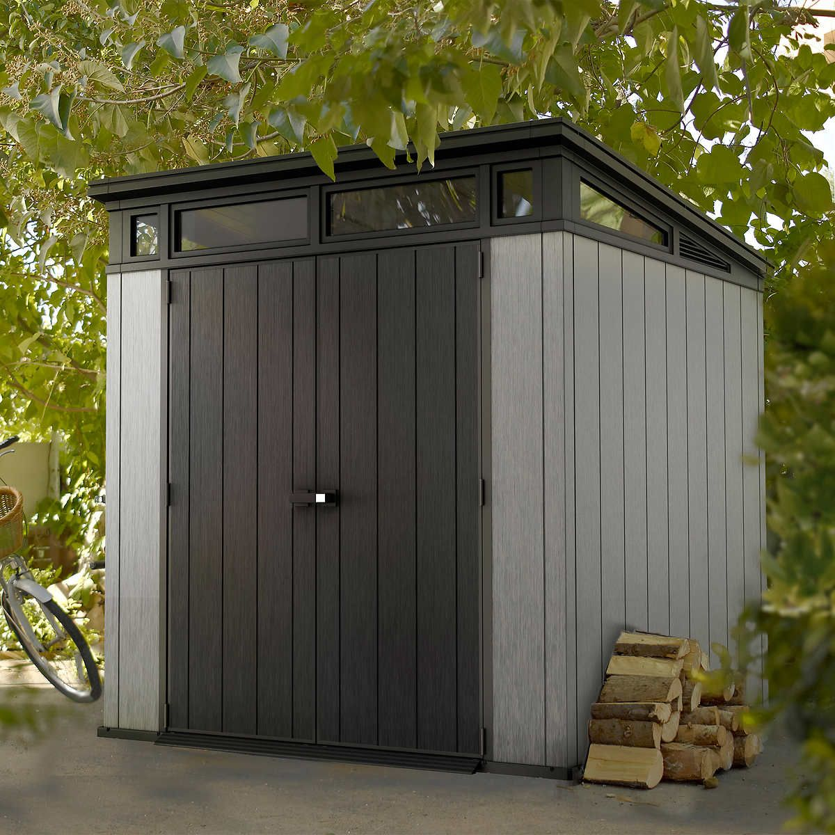 Pin By Karen On Exterior Resin Sheds Outdoor Sheds Outdoor Storage Sheds