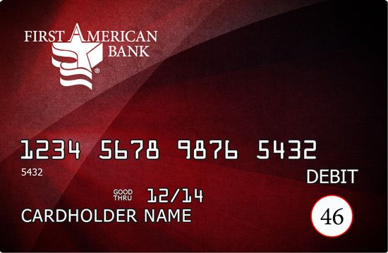 Choose from over 75 Designer Debit Cards at First American