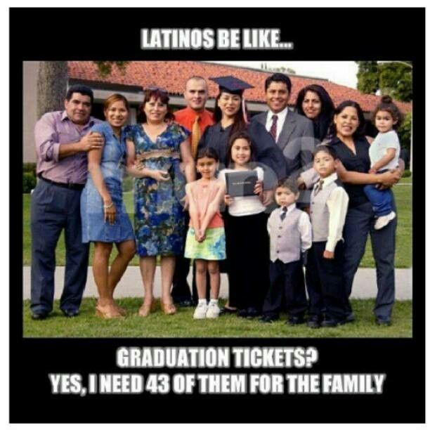 funny latino graduation photos Latinos be like