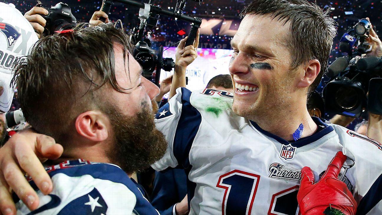 How Julian Edelman Became Tom Brady S Little Brother Julian Edelman Patriots Julian Edelman Tom Brady