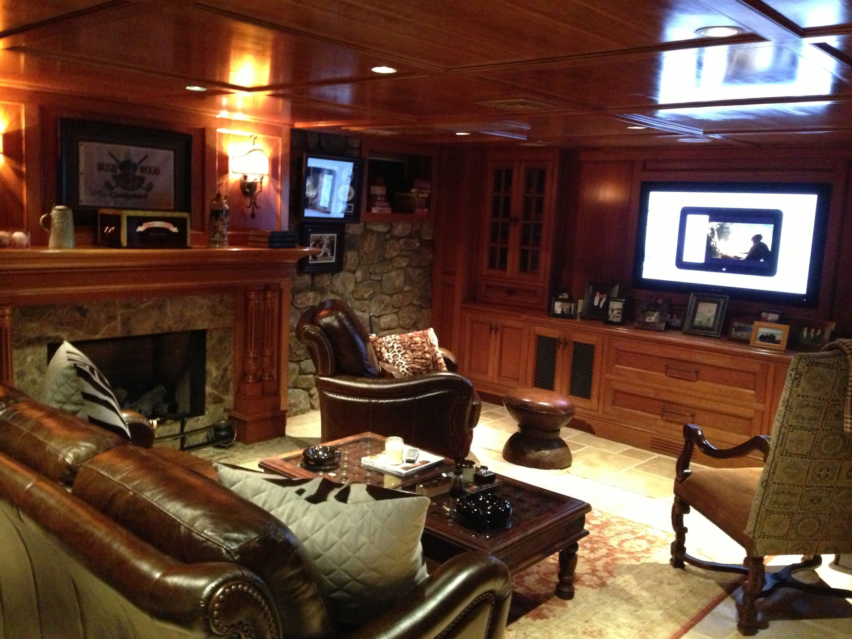 Man Cave Designs For Garage In Lake House