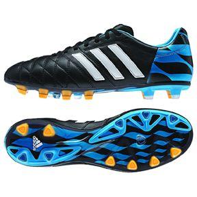 adidas 11Pro UEFA Champions League FG Soccer Shoes (Blue)  8dae581ad1ef5