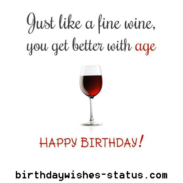 Birthday Wishes For Wine Drinker