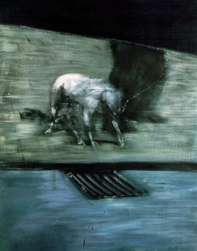 Francis Bacon Man With Dog 1953
