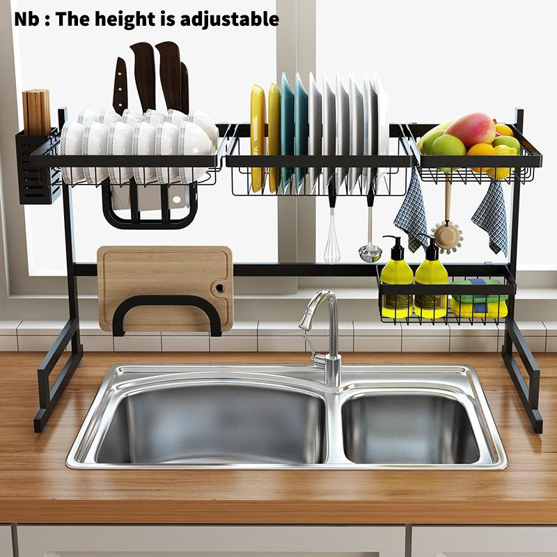 Nb Use Our Multi Functional Dish Rack Over The Sink Or On The Counter Save Tons Of Space And Time By M Kitchen Storage Rack Kitchen Rack Home Decor Kitchen